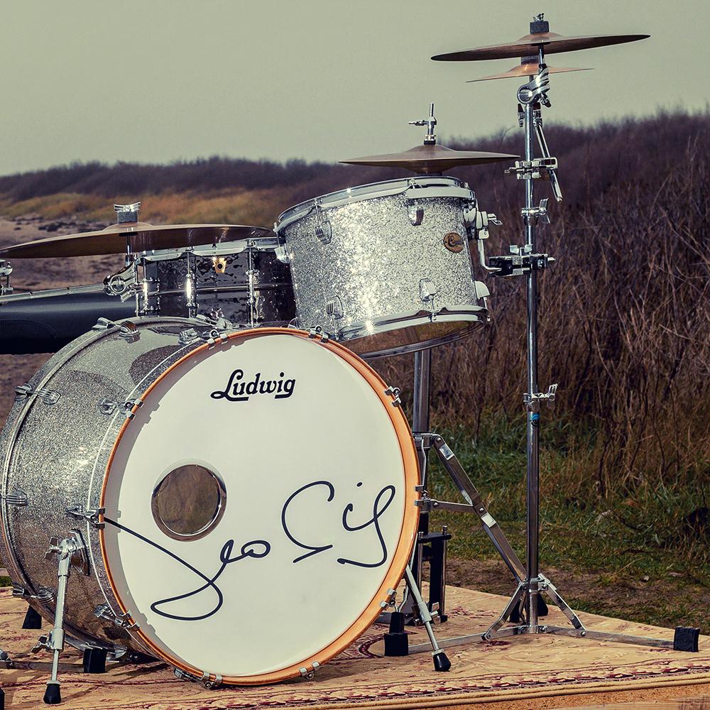 Leo Sieg - deutscher Schlagzeuger, Endorser Ludwig